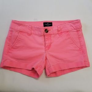 American Eagle Pink Neon Shorts